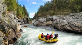 River Rafting Wallpaper Full HD