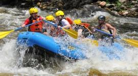 River Rafting Wallpaper HD