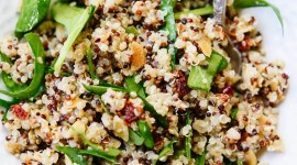 Salad With Dried Tomatoes Wallpaper For IPhone Download