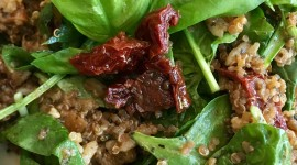 Salad With Dried Tomatoes Wallpaper For IPhone Free