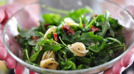 Salad With Dried Tomatoes Wallpaper Full HD