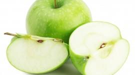 Sliced Apple Wallpaper Download Free