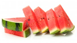 Sliced Watermelon Desktop Wallpaper For PC