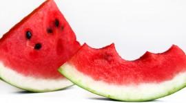 Sliced Watermelon Wallpaper Background