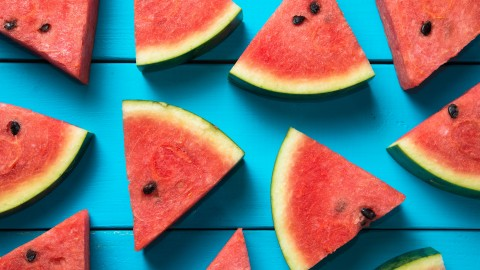 Sliced ​​Watermelon wallpapers high quality