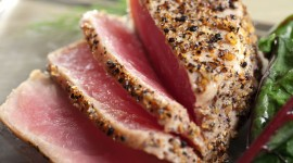Tuna Steak Desktop Wallpaper