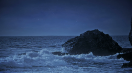 Wave Night Wallpaper Download
