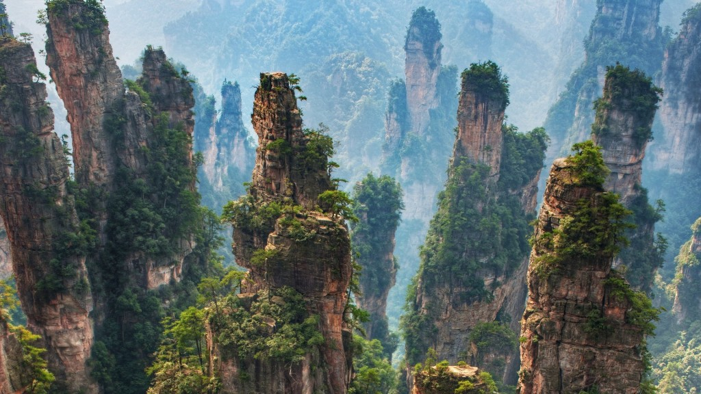 Zhangjiajie National Forest Park wallpapers HD
