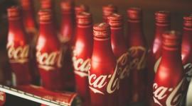 4K Coca Cola Photo Free