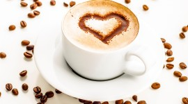 4K Coffee With Foam Best Wallpaper