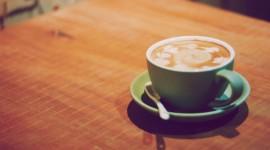 4K Coffee With Foam Desktop Wallpaper HD