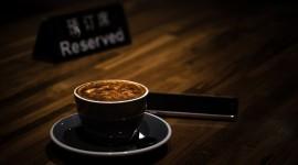 4K Coffee With Foam Photo
