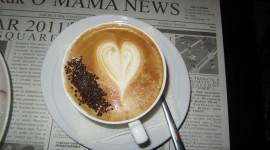 4K Coffee With Foam Wallpaper 1080p