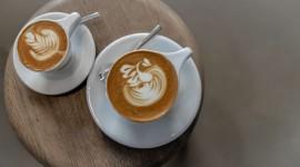 4K Coffee With Foam Wallpaper Download