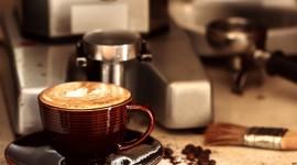 4K Coffee With Foam Wallpaper Full HD