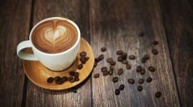 4K Coffee With Foam Wallpaper Gallery