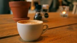 4K Coffee With Foam Wallpaper#1