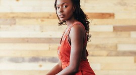 Anna Diop Wallpaper For IPhone Download