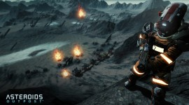 Asteroids Outpost Wallpaper Free