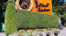 Butchart Gardens Desktop Wallpaper