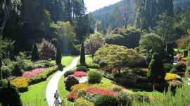 Butchart Gardens Desktop Wallpaper For PC