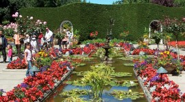 Butchart Gardens Wallpaper For Mobile