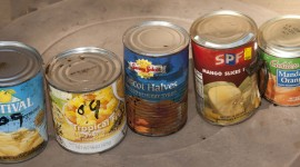 Canned Food Wallpaper Background