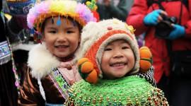 Chinese Children Wallpaper