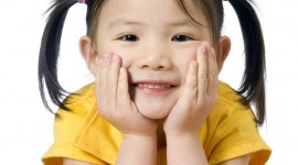 Chinese Children Wallpaper For IPhone