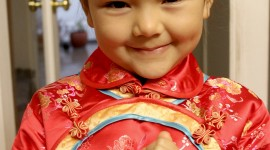 Chinese Children Wallpaper For IPhone Free