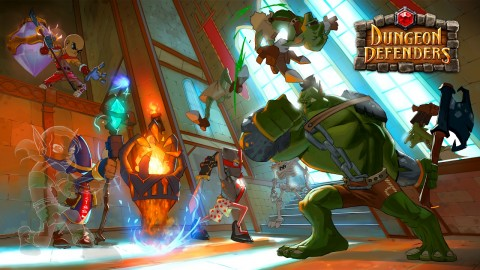 Dungeon Defenders 2 wallpapers high quality