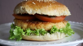 Fish Burger Wallpaper Download