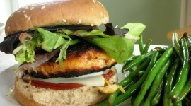 Fish Burger Wallpaper Download Free