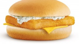 Fish Burger Wallpaper For PC