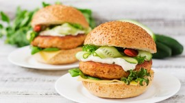 Fish Burger Wallpaper Free