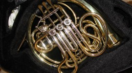 French Horn Photo Free