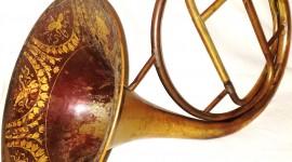 French Horn Wallpaper For Mobile