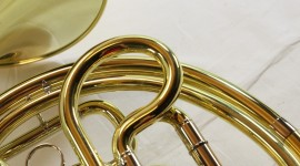 French Horn Wallpaper Free