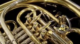 French Horn Wallpaper Full HD