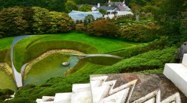 Garden Of Cosmic Speculation Photo Free