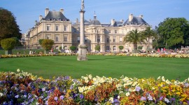 Jardin Du Luxembourg Desktop Wallpaper