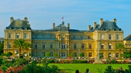 Jardin Du Luxembourg Wallpaper Download
