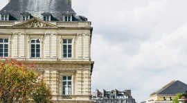 Jardin Du Luxembourg Wallpaper For IPhone
