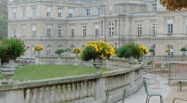 Jardin Du Luxembourg Wallpaper For Mobile