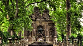 Jardin Du Luxembourg Wallpaper Full HD