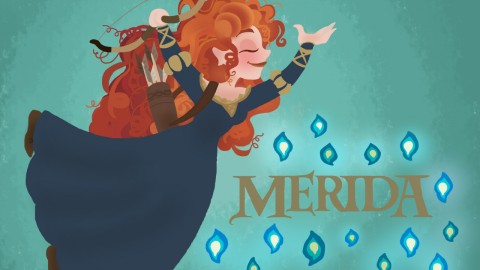Merida wallpapers high quality