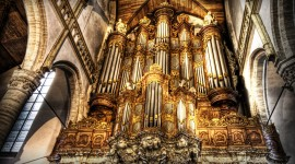 Organ Music Wallpaper