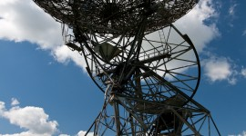 Radio Telescope Wallpaper For IPhone