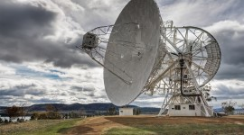 Radio Telescope Wallpaper HQ