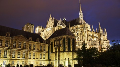 Reims Cathedral wallpapers high quality